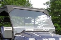 Polaris Crew FOLDING Hard Lexan Windshield
