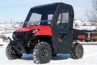 Polaris Ranger 400 Full Cab Enclosure | Aero-Vent Hard Windshield