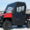 Polaris Ranger 400 Full Cab Enclosure | Areo-Vent Hard Windshield-side view