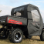 2010+ Polaris Ranger Full Cab Enclosure with Vinyl Windshield -rear view