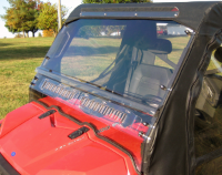 Polaris Ranger AERO-VENT Hard Lexan Windshield