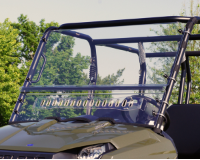 Polaris Ranger 400|400EV|500 AERO-VENT Hard Lexan Windshield