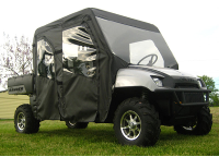 Polaris Crew Full Cab Enclosure with Vinyl Windshield