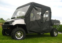Polaris Crew Full Cab Enclosure with FOLDING Polycarbonate Windshield