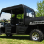 Polaris Crew Mini Cab Enclosure with FOLDING Hard Windshield -side view