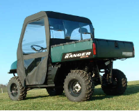 Polaris Ranger 4x4 XP HD Soft Doors Rear Window Combo
