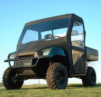 Polaris Ranger Full Cab Enclosure with Vinyl Windshield
