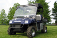 Polaris Ranger FOLDING Hard Lexan Windshield
