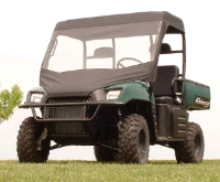 Polaris Ranger Vinyl Windshield Top Combo