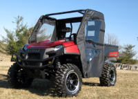 Polaris Ranger400|400EV|500 Soft Doors Rear Window Combo