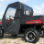2010+ Polaris Ranger Full Cab Enclosure with FOLDING Hard Windshield-side doors closed