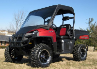 Polaris Ranger 400 Vinyl Windshield Top Cap Canopy