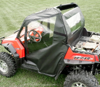 Polaris RZR 800 900 Doors Rear Window Combo