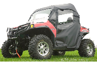 Polaris RZR 800 900 Full Cab Enclosure with AeroVent Lexan Hard Windshield