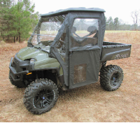 Polaris Ranger 400/500/800 Mid-Size STEEL FRAME Doors Rear Window Combo