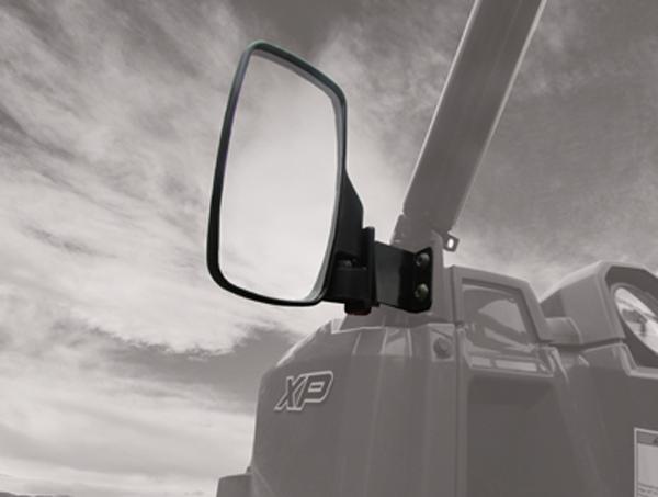 Breakaway Side View Mirror For Polaris Ranger Xp 900