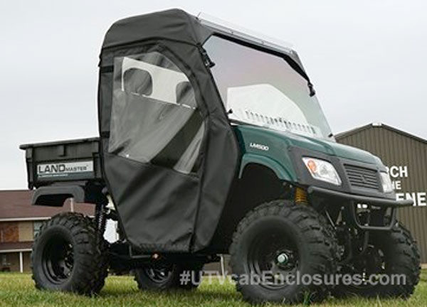 American Sportworks LandMaster 500 Full Cab with Hard Windshield