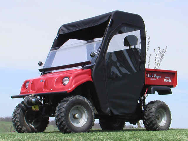 Chuck Wagon Utv : American sportworks brister s chuck wagon full cab for oem