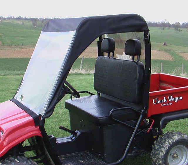 Chuck Wagon Utv : Brister s chuck wagon mini cab enclosure windshield