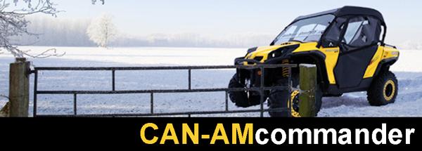 Can am Commander XT 1000 Accessories at UTV Cab Enclosures