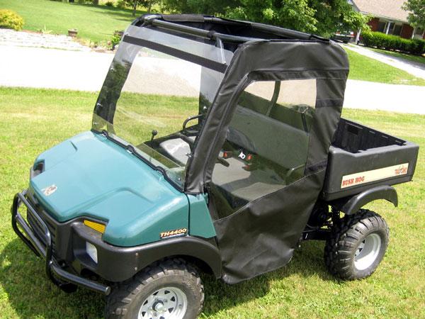 Bush Hog Trail Hand Full Cab W   Folding Lx Windshield
