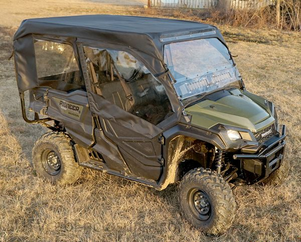 Pioneer 1000 5 Full Cab Enclosure With Aero Vent Hard