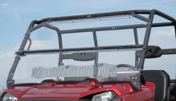 Honda Big Red Muv 700 Cab Enclosure Aero Vent Hard Windshield