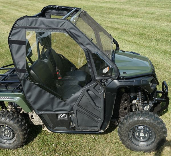 Honda Pioneer 500 Doors Rear Window Combo