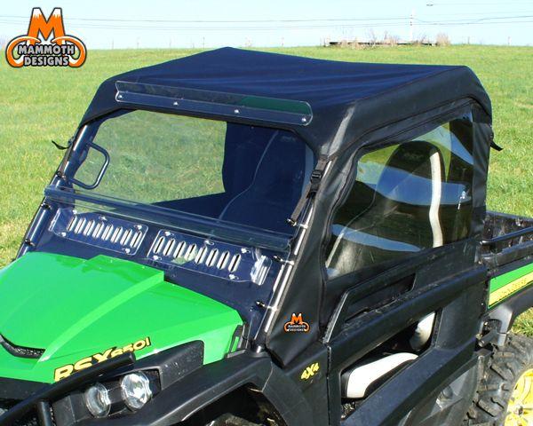 John Deere Rsx850i Full Cab Enclosure With Aero Vent