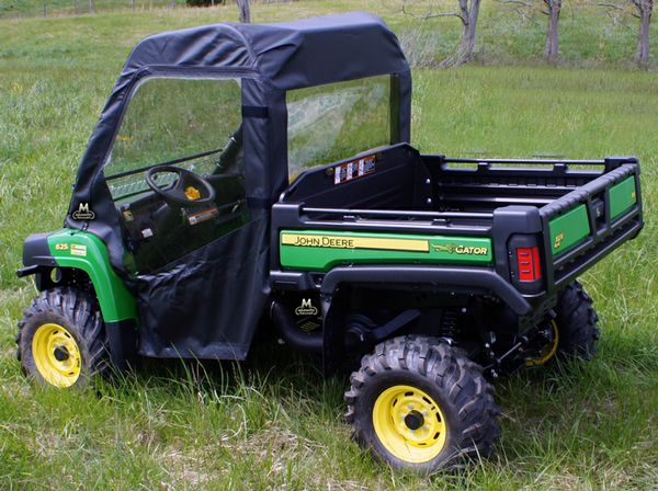 John Deere Gator Full Cab Enclosure With Aero Vent Windshield Utv