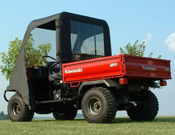Kawasaki Mule 3010 Full Cab Enclosure With Vinyl Windshield