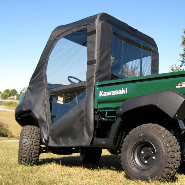 ... Kawasaki Mull 4010 Full Cab Enclosure with doors & Kawasaki Mule 4010 Full Cab w/ Vinyl