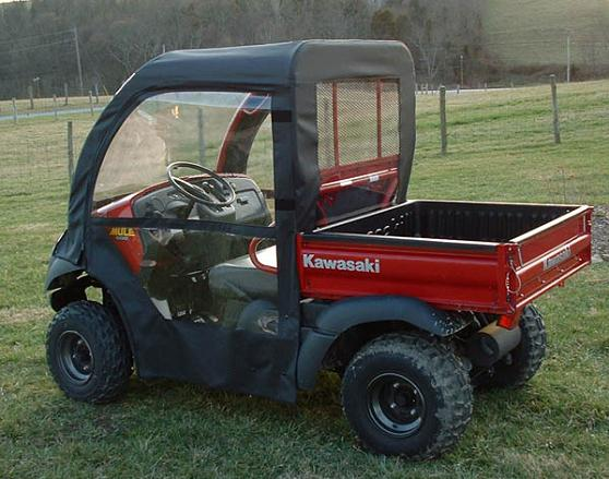 Kawasaki Mule 600 610 Full Cab Enclosure