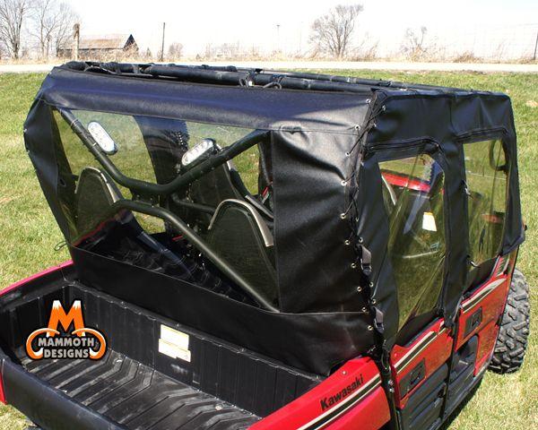 Kawasaki Teryx 4 Rear Window Utvcabenclsoures Com