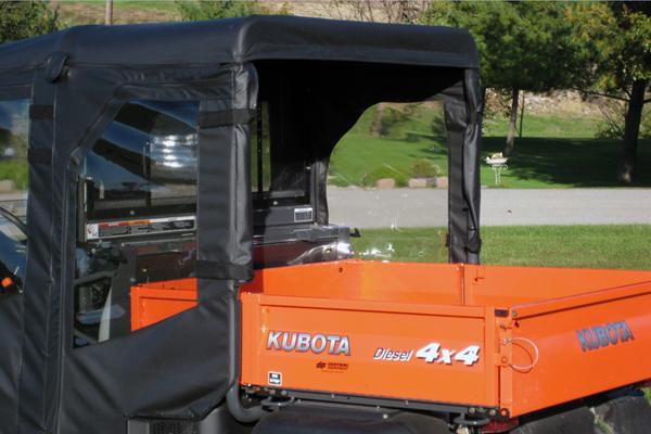 Kubota RTV1140 Full Cab Enclosure With Aero Vent Hard Windshield