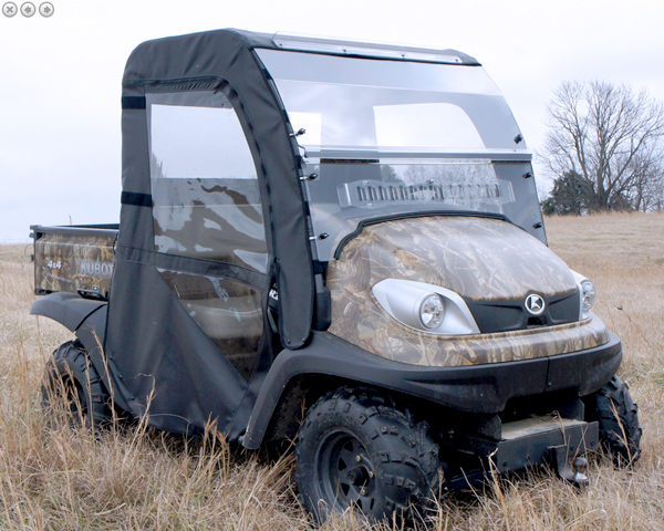 Kubota RTV500 Full Cab Enclosure with HARD Polycarbonate