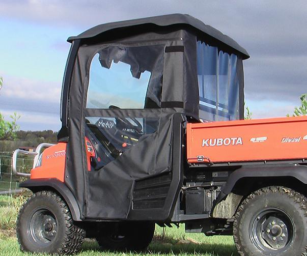 Kubota Rtv900 Cab Enclosures Doors Rear Window Combo For Sale