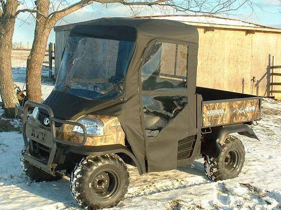 Kubota Rtv900 Utv Full Cab Enclosure With Hard Lexan