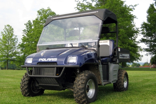 Polaris Ranger Hard Lexan Windshield Folding Hard Windshield