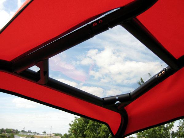 ... Ploaris RZR 800 Top Cap Canopy With Sun Roof