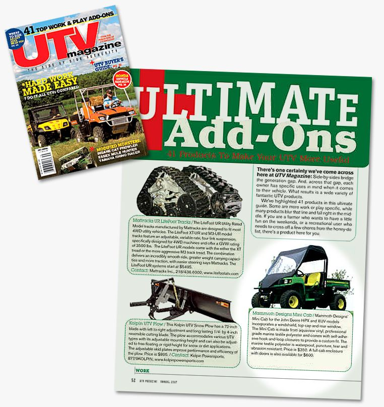 UTV Magazine Mammoth Design review | 4X4 UTV | Windshields