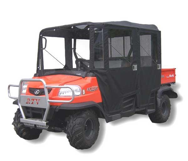 Kubota RTV1140 Full Cab Enclosure With Steel Door Frames