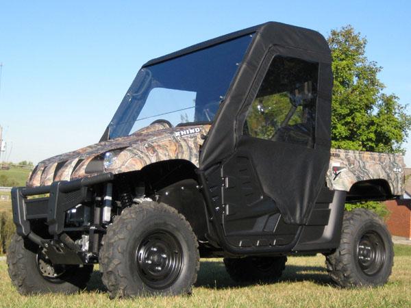 Yamaha Rhino Full Cab Enclosure with FULL Hard Windshield & Yamaha Rhino Full Cab Enclosure with FULL Windshield