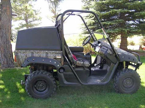Yamaha Rhino Rhinoback Bed Topper Economy Priced Bed