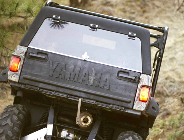 Yamaha Rhino Rhinoback Bed Topper Deluxe Model Bed